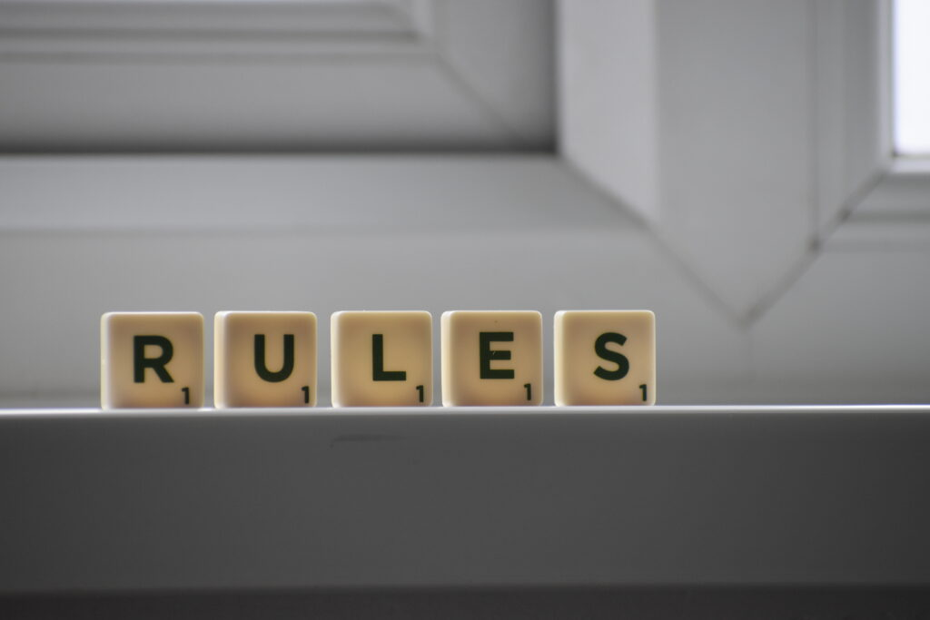 Disciplining and Rules