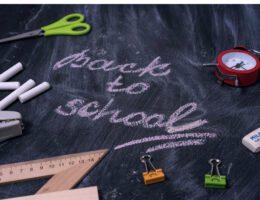 Back to school preparations