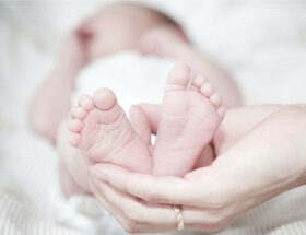 New mom baby born